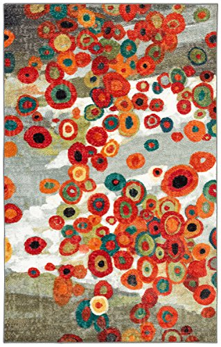 """Mohawk Home Strata Tossed Floral Multi Rug, 2' 6"""" x 3' 10"""""""