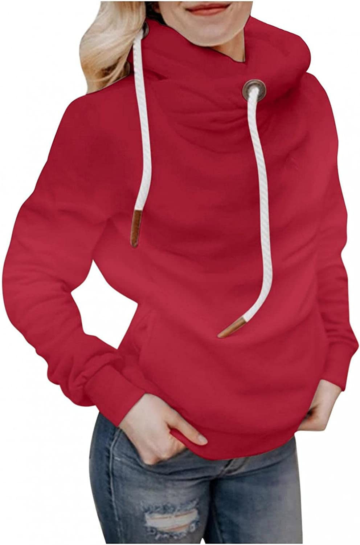 Hoodies for Women,Womens Sweatshirt Hooded Long Sleeve Shirts Striped Sweater Crewneck Loose Sweatshirt Hoodie
