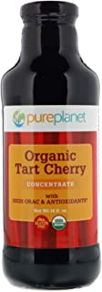 PURE PLANET Organic Tart Cherry Concentrate, 16 Ounce