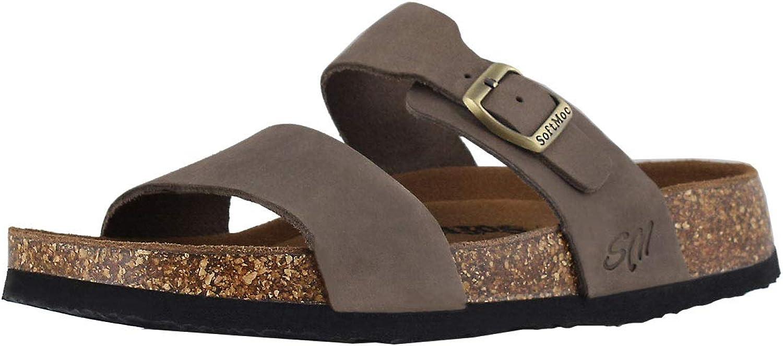 SoftMoc Women's Arianna 5 Cork Footbed Slide Sandal