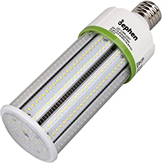 60W Led Corn Light Bulb, 5000K Medium E26 Led Bulbs, 8100 Lumens Replacement for 175-250W Metal Halide/HID/CFL/HPS, Garage,Warehouse,Shop,Gym,High Bay Lights Retrofit Led - UL LISTED, IP64