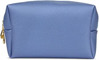 HOYOFO Makeup Bag Travel Small Cosmetic Bags Makeup Pouch for Purse (Blue)