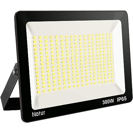 6X300W LED Fluter Flutlicht draussen Außen Strahler Scheinwerfer Kaltweiß 220V