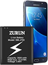 Galaxy J7 Battery ZURUN 3500mAh Replacement Battery for Samsung Galaxy J7 SM-J700 (2015 Ver) EB-BJ700BBC/ EB-BJ700BBU J700H,J700P,J700T,J700T1,J700M [2 Year Warranty]