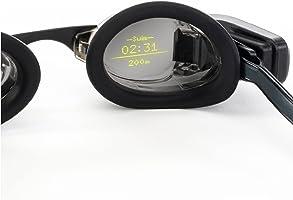 FORM Slimme Zwembril, fitnesstracker voor zwembad, Open Water en Zwemspa met een doorzichtig display dat uw statistieken...