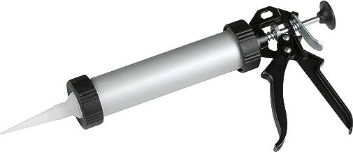 Meister Cartridgepers - Gesloten aluminium behuizing - Geschikt voor 310 ml patronen & navulzak - Voor lijmen & afdichtmid...