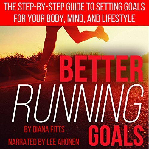 Better Running Goals audiobook cover art