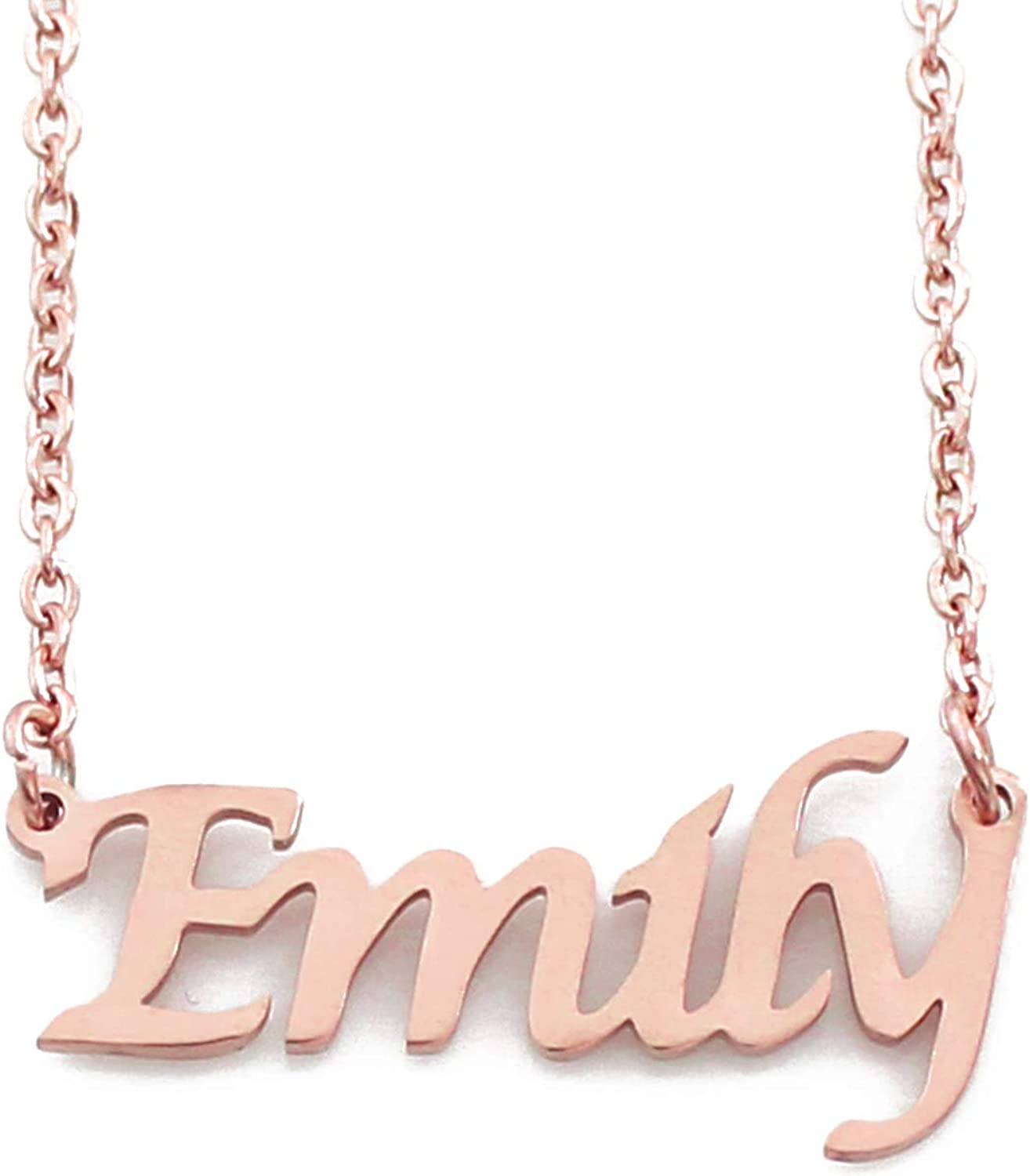 Fashion Jewellery & Watches Emma Emily Letter Name Pendant Charm ...