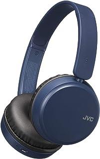 JVC Deep Bass Wireless Headphones, Bluetooth 4.1, Bass Boost Function, Voice Assistant Compatible, 17 Hour Battery Life - ...