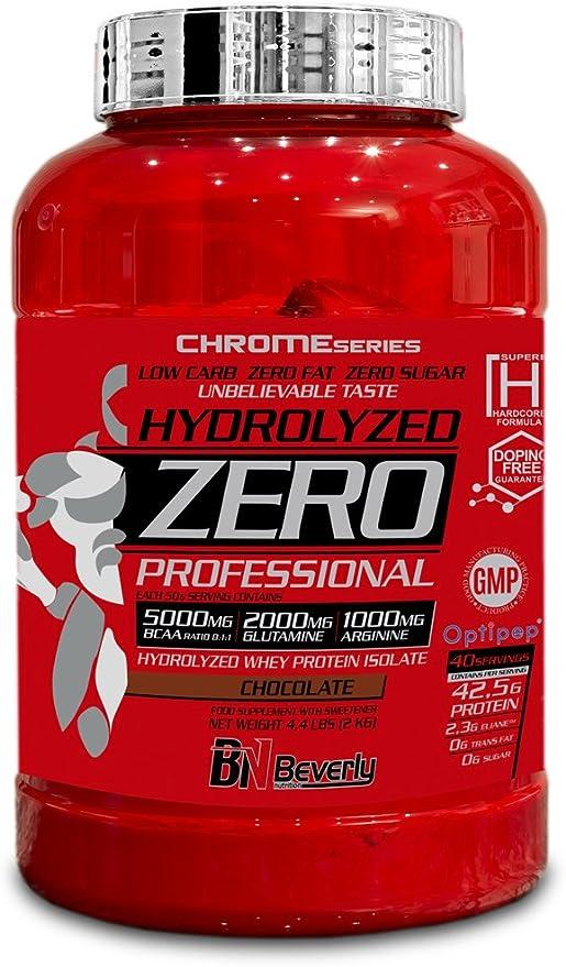 Beverly Nutrition Hydrolyzed Zero Professional Proteína hidrolizada Sabor Chocolate - 2000 gr