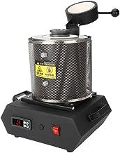 ZJchao Horno de fusión de Oro, máquina de fusión pequeña, Horno de fundición de Oro, Plata y Cobre para fusión a Alta Temperatura de Joyas de Oro y Plata, 110 V
