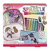 Fashion Angels Glitter Pin Design Kit/ Decorative Pin Kit/ Pin Making Kit for Girls,Assorted