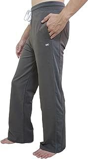 YogaAddict Men's Yoga Long Pants, Pilates, Fitness, Workout, Meditation, Lounge, Tai Chi, Capoeira, Martial Arts Pants