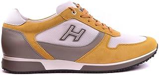 a179b9376 Hogan Sneakers Uomo MCBI20384 Pelle Giallo