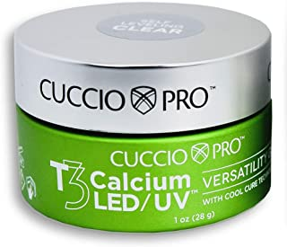 Cuccio Pro T3 Calcium LED/UV Versatility Self-Leveling Clear Gel 1 oz.