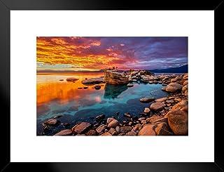 Sailboats on Lake Tahoe California Nevada Landscape West Coast Nature Wall Art Photograph Print