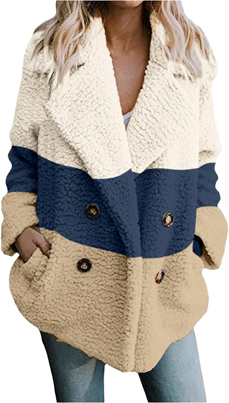 Autumn Jacket Plaid,Women's Casual Jacket Winter Warm Outwear Ladies Coat Overcoat Outercoat