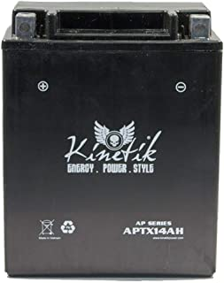 Kinetik 12V 12AH Battery for Honda 750 VF750C V45 Magna 1982-1983