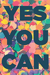Yes you can: Diet journal: Daily food, fitness, exercise and wellbeing planner and notebook