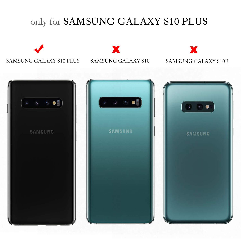 GEEMAI Diseño para Samsung Galaxy S10 Plus Funda, Protectora PU ...