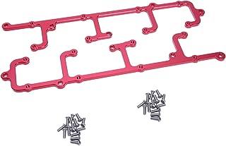 Hiwowsport Billet Aluminum Coil Brackets for LS1/LS6 D580 12558948 Coils Red Color