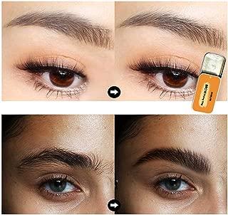Natural 3D Feathery Brows Makeup Balm Long-Lasting Waterproof Wild Eyebrow Shaping Soap Eyebrow Enhancer Gel Wax Eyelash Re-Growth Wax (1 x Eyebrow Shaping Soap + 1 x Brush)