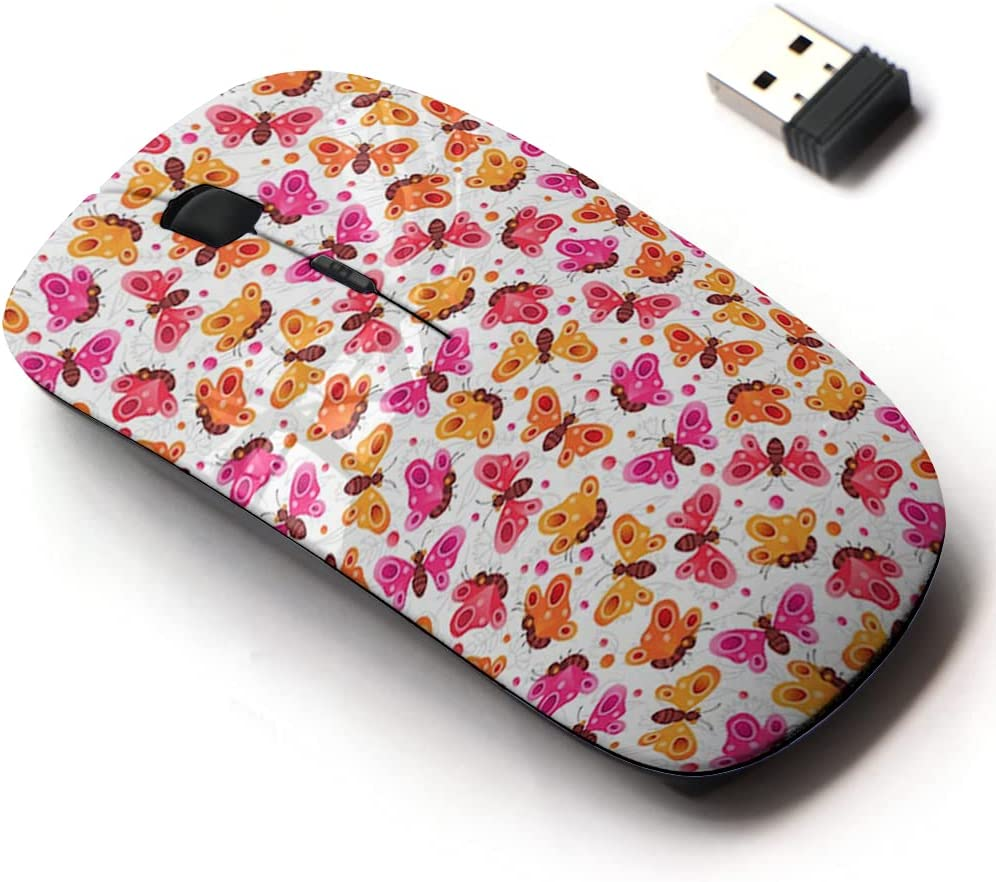 2.4G Max 40% OFF Wireless Mouse with Cute Pattern All for Design and Laptops Max 75% OFF