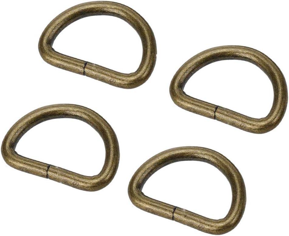 Metal D Ring Buckle New item Non Welded 1 inch of Diameter Inside Pack Nashville-Davidson Mall 20