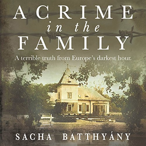 A Crime in the Family audiobook cover art