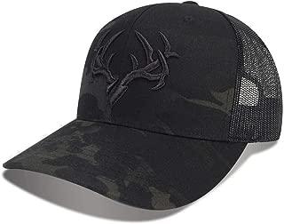 Men's Trigger Snapback Multicam Black Hunting Hat