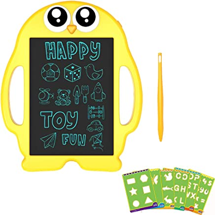 LCD Writing and Drawing Tablet, 9 Inch Portable Electronic Writing Drawing Board Gift for Kids, Handwriting Paper Penguin Board for School and Office