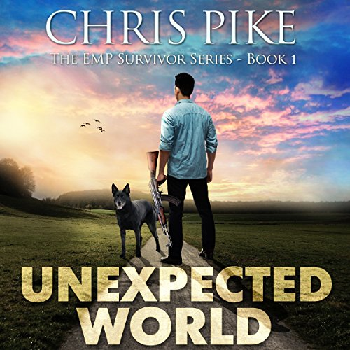 Unexpected World audiobook cover art
