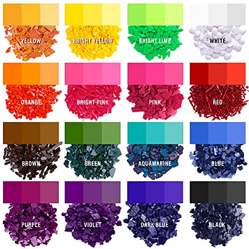 Candle Dyes - Wax Dyes for Candle Making - Color Chips for Candle Making - Wax Dye Flakes - Candle Wax Color Chips - Soy Candle Color Dyes
