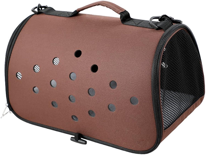 GWM Fashion Cat Bag Pet Bag Out Bag Shoulder Bag Bust Dog Bag Cat Bag Carrying Bag Travel Set (color   4)