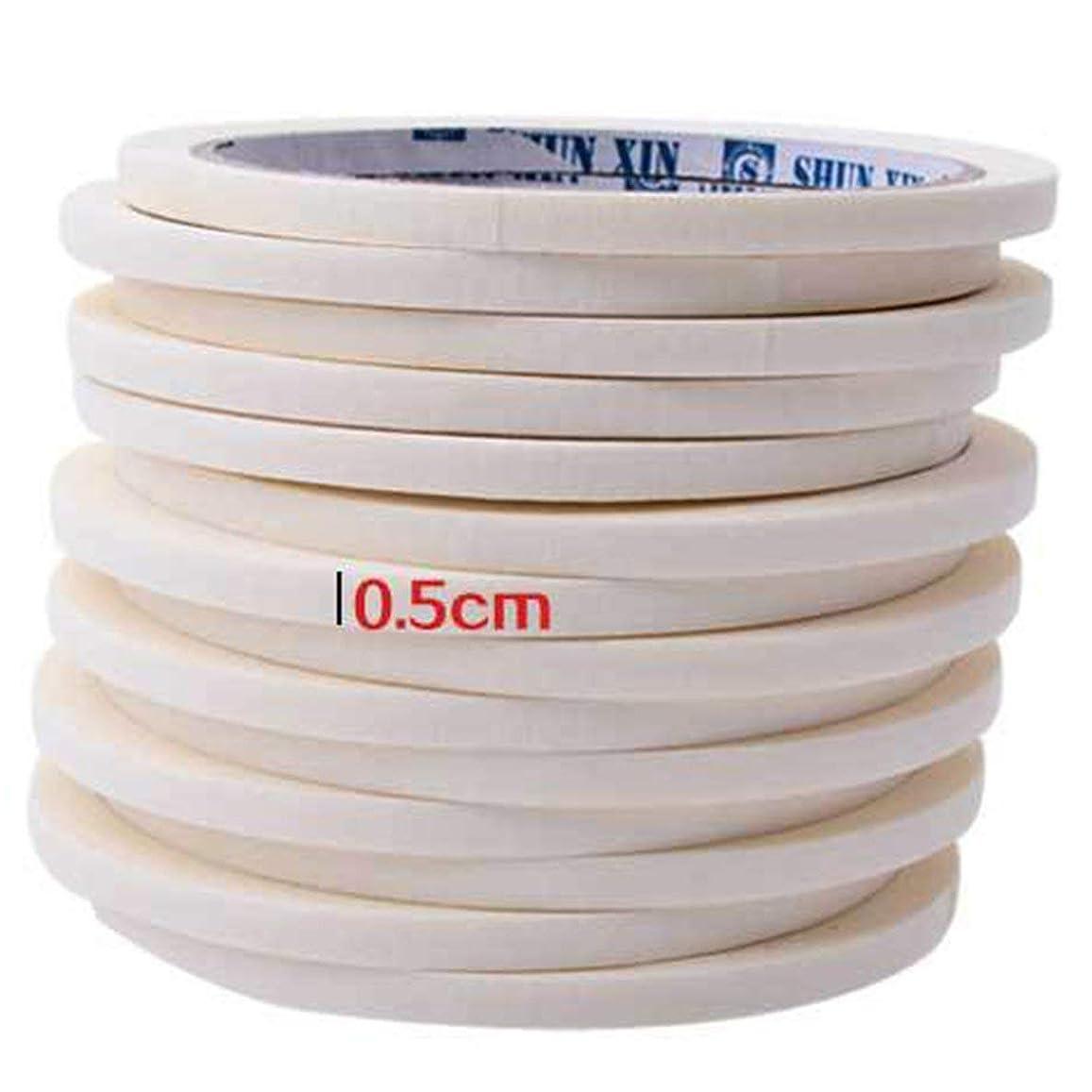 火炎スリッププレフィックスBirdlanternネイルテープ0.5センチマスキングテープ装飾パターンネイルポリッシュツールマニキュアネイルアートネイルテープアクセサリー用マニキュア