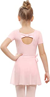 STELLE Bow Back Ballet Leotard Combo with Dance Skirt and Dance Tight