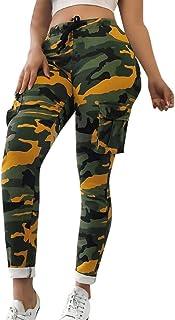 mieux choisir juste prix outlet Amazon.fr : Pantalon Camouflage Femme : Vêtements