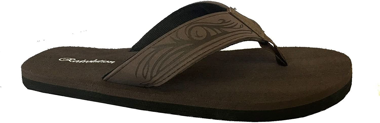 Geometric Bali Flip-Flop Sandals New Boys Beach Sandal Tribal Tattoo
