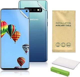 kwmobile Pellicola protettiva display compatibile con Samsung Galaxy S10 - Proteggi schermo Full Body in TPU per Smartphone