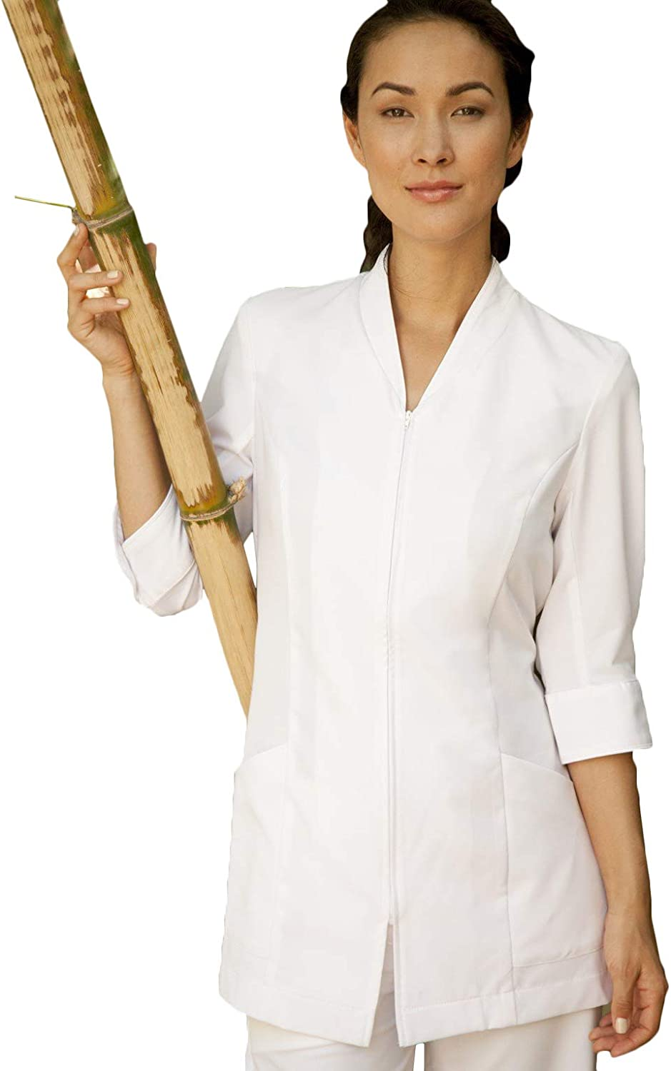 Averill's Sharper Uniforms Ladies Pravia with Front Ranking TOP2 Pipin Zipper Max 43% OFF