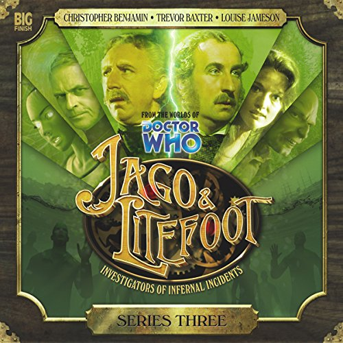 Jago & Litefoot Series 3                   De :                                                                                                                                 Matthew Sweet,                                                                                        John Dorney,                                                                                        Andy Lane,                   and others                          Lu par :                                                                                                                                 Christopher Benjamin,                                                                                        Trevor Baxter,                                                                                        Conrad Asquith,                   and others                 Durée : 4 h et 39 min     Pas de notations     Global 0,0