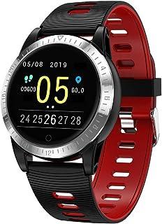 YZY Reloj Inteligente de la versión 2019, Pulsera Actividad con Monitor de Ritmo cardíaco IP68 Rastreador de Actividad a Prueba de Agua con Reloj podómetro para Mujeres, Hombres y niños