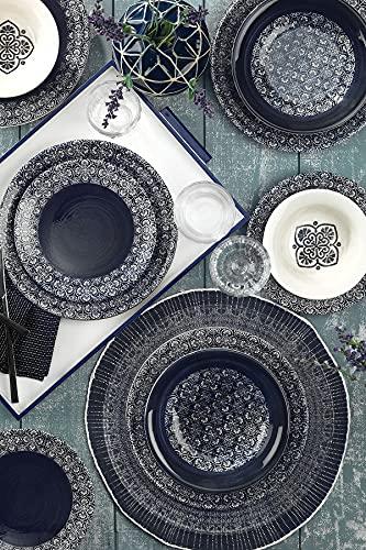 Kütahya 89077 Nanoceram - Juego de vajilla (porcelana, 24 piezas)