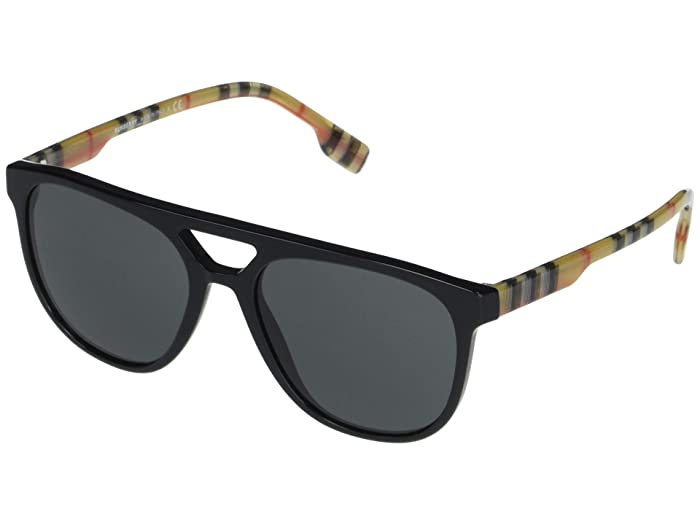 Burberry  BE4302 (Black/Grey) Fashion Sunglasses