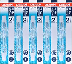 Osram halogeenlamp Haloline, R7s, 230V, lengte: 78mm (48 Watt) 5 stuks