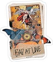 Hik kal Shop Bad at Love Tarot Card Stickers (3 Pcs/Pack)