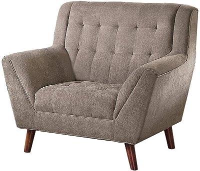Amazon.com: Moderno WINGBACK cojín acolchado de silla de ...