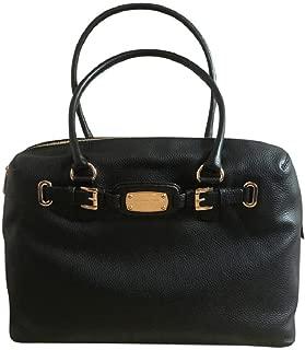 35S6GHMS9L Hamilton Weekender Black Carry-on Leather Shoulder Bag