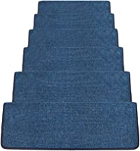 JIAJUAN Rectangle Stair Carpet Treads Solid Color Wear Resistant Non-Slip Floor Rugs, 6 Colors, 5 Sizes, Customizable (Col...