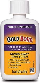 Gold Bond Pain & Itch Formula W/4% Lidocaine 1.75 oz (3 Pack)